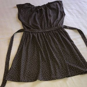 Lauren conrad dress size L gray